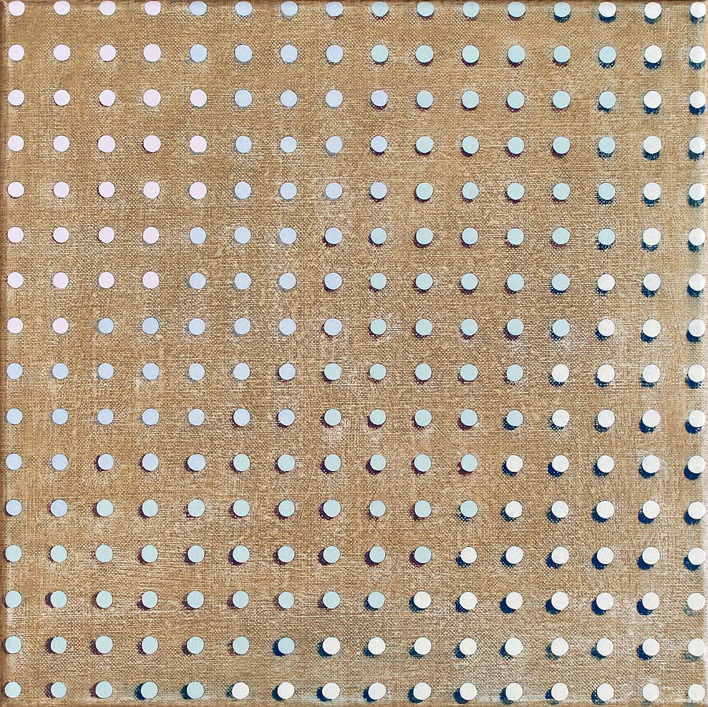 40 x 40 cm olieverf op linnen