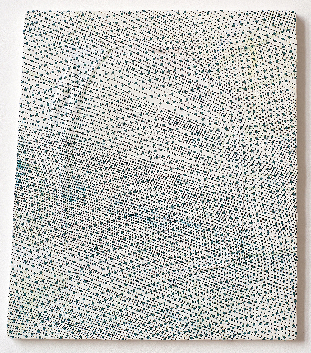 50 x 45 cm gesso en olieverf op mdf
