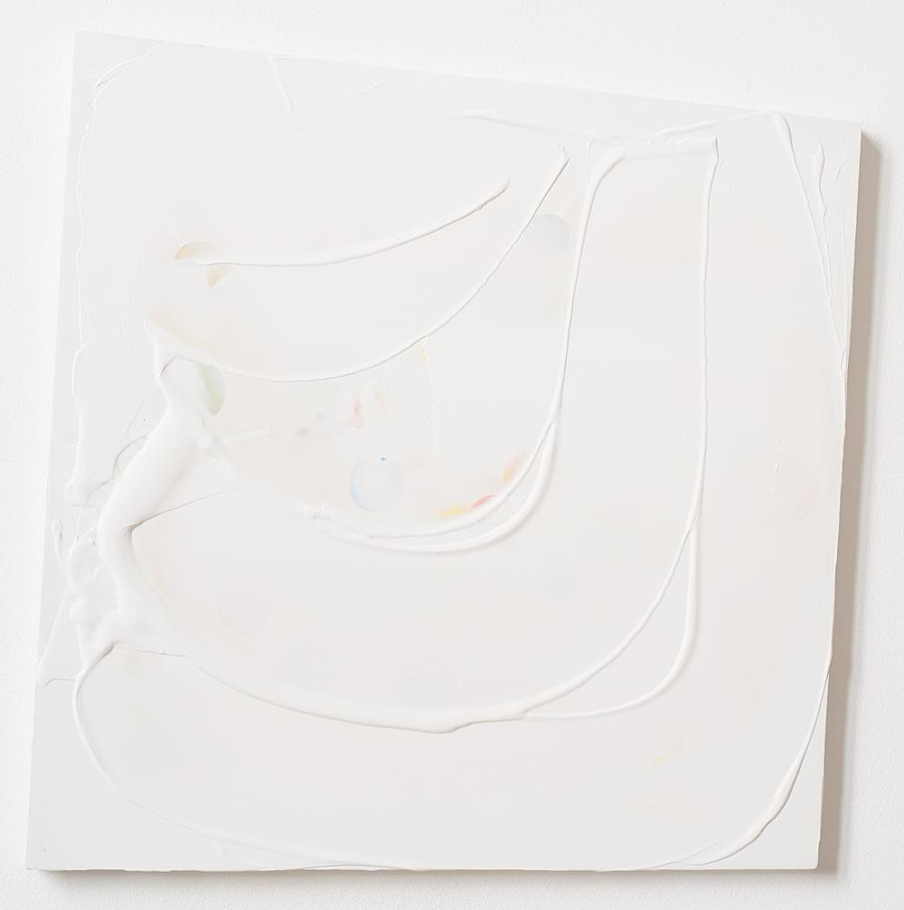 54 x 50 cm gesso en gouache op mdf